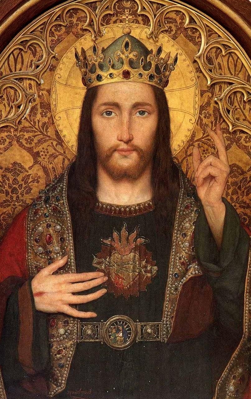 Jesus ist König und Herr aller Herzen